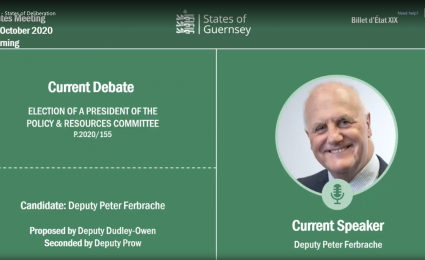 New Chief Minister for Guernsey