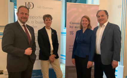IoD May Breakfast - Leadership and Governance in Government in a Post-Covid World